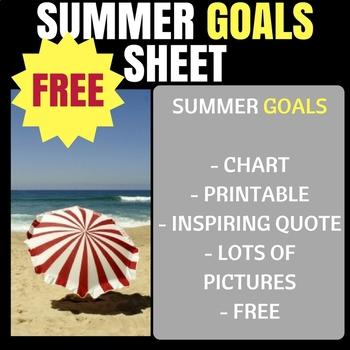 Summer Goals!