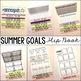 Summer Goals - An End of Year Activity