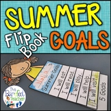 Summer Goals Flip Book Activity for End of the Year