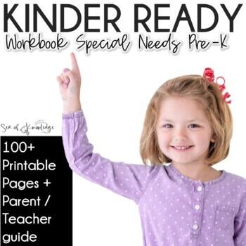 Kindergarten Readiness Preschool No Prep Printable Workbook