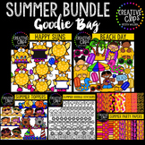 Summer Goodie Bag Bundle {Creative Clips Digital Clipart}