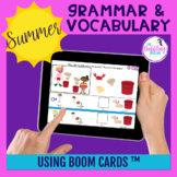 Summer Grammar & Vocabulary BOOM Cards ™