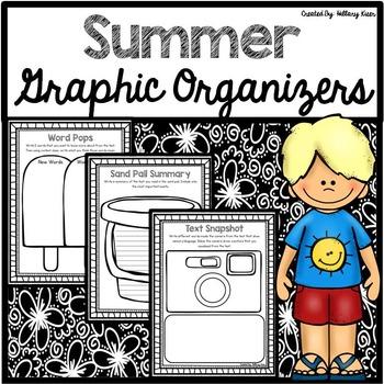 Summer Graphic Organizers