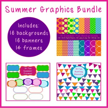 Summer Graphics BUNDLE