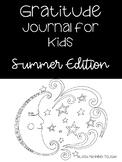 Summer Gratitude Journal for Kids