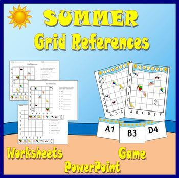 Summer Grid References/Coordinates.