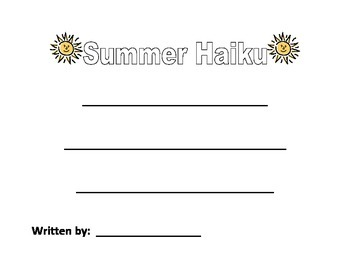 Summer Haiku