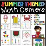 Summer Hands On Math Centers