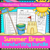 Summer Handwriting BUNDLE - Handwriting Without Tears® sty