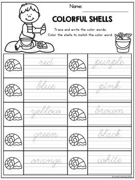 Summer Handwriting Lessons (Cursive Edition)