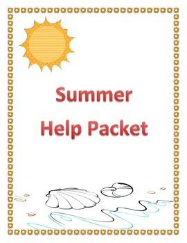 Summer Help Packet