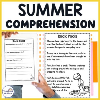 Summer Holiday Reading Comprehension Passages and Questions