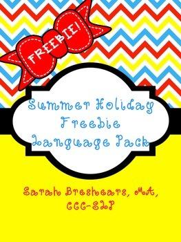 Summer Holiday {{Freebie}} Language Pack