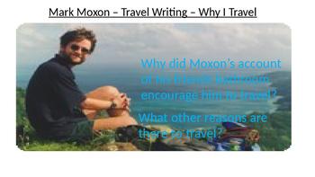 Summer Holiday Travel Writing