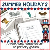 Summer Holidays   Centers for Primary Grades