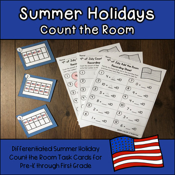 Summer Holidays Count and Add the Room 0-10