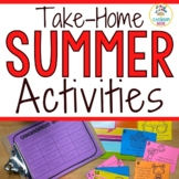 Summer Homework Activities For Your Students