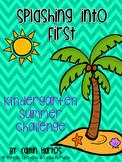 Summer Homework Challenge for K - Splashing into First