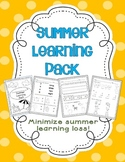 Summer Homework Pack