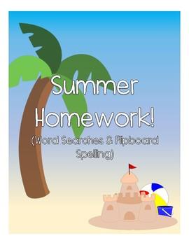 Summer Homework Pack: Tricky Endings (-ge/-dge, -ch/-tch)