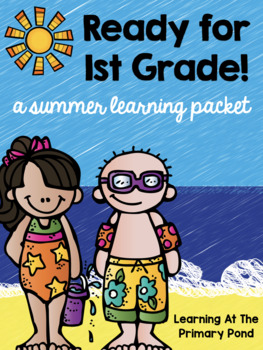 Summer Homework Pack for Rising First Graders (who have completed Kindergarten)