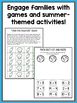 Summer Homework Packet for Rising Second Graders (who have