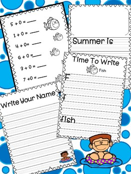 Summer Homework to Prepare for First Grade