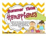 Summer Homophones Freebie