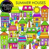 Summer House Clipart {Summer Clipart}