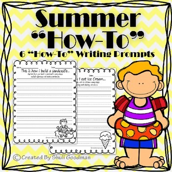"Summer ""How-To"" Writing Prompts"
