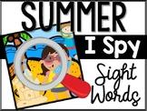 Summer I Spy Sight Words