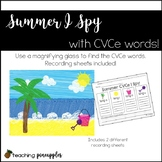 Summer I Spy... with CVCe words!