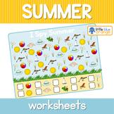 Summer I spy  worksheets