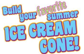 Summer Ice Cream Art