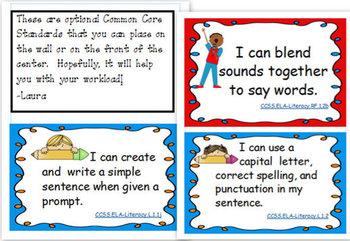 S- Blends Literacy Center