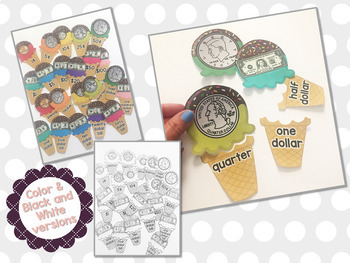 Summer Ice Cream Money Puzzles