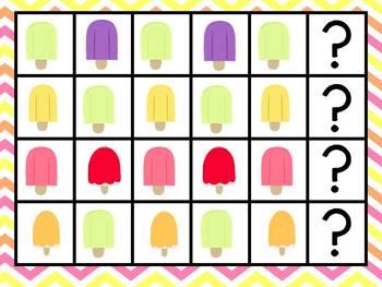 Summer Ice Cream Popsicle Party MEGA Math Pack