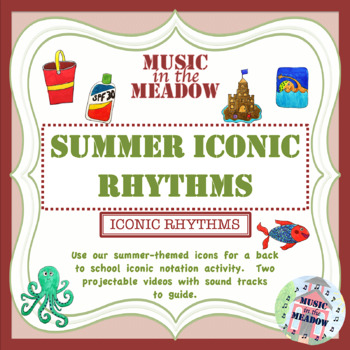 Summer Iconic Rhythm Activity Distance Learning