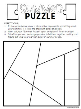 Summer Inference Puzzle