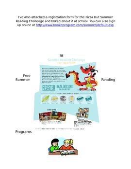 Summer Informational Packet