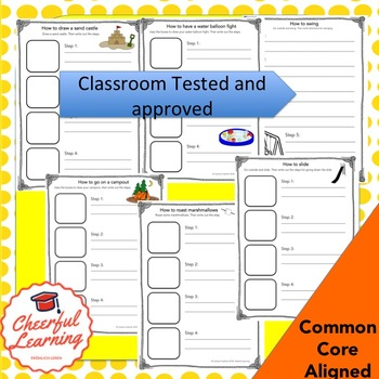 Summer Informative Writing: Common Core Aligned