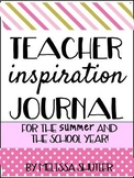 End of Year Summer Inspiration Planner for Teacher Authors