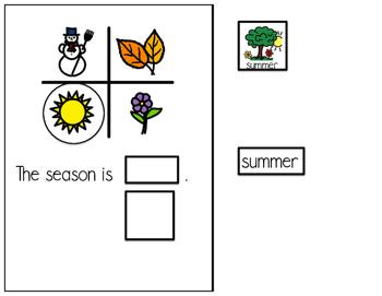 Summer - Interactive Adapted book