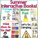 Summer Interactive Books (Adapted Books For Special Education & ESY Programs)
