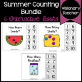 Summer Interactive Counting Books Bundle (SET OF 6)