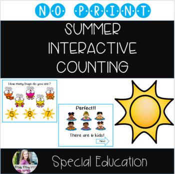 Summer Interactive Counting (No print)