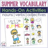 Summer Interactive Language Activities