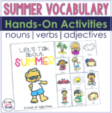 Summer Interactive Vocabulary Activities