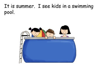 Summer Interactive Reader; Autism; Visually Impaired; Kindergarten; Special Ed.