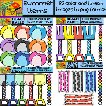 Summer Items Bundle - 12 Sets in 1 - #132 Items (Daily Deal Today)
